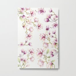 Delicate Magnolia 2 Metal Print