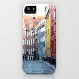 Colors of Copenhagen iPhone Case