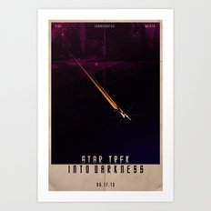 Star Trek - Into Darkness Art Print