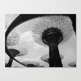 Beneath The Supertrees Canvas Print