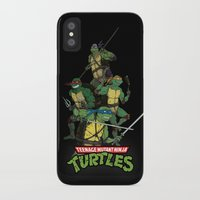 tmnt iPhone & iPod Cases featuring TMNT by Neal Julian