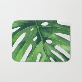 Monstera Leaf Bath Mat