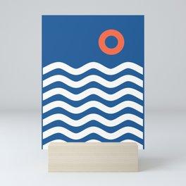 Nautical 03 Seascape Mini Art Print