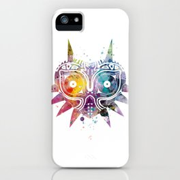 Majoras Mask iPhone Case