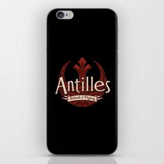 Antilles School of Flying iPhone & iPod Skin