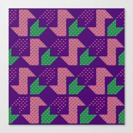Clover&Nessie_Lavender&Mauve Canvas Print