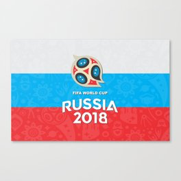 Russia world cup Canvas Print