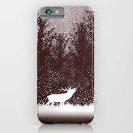 The rut - deer mating season iPhone Case