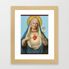 Saint Leslie Framed Art Print