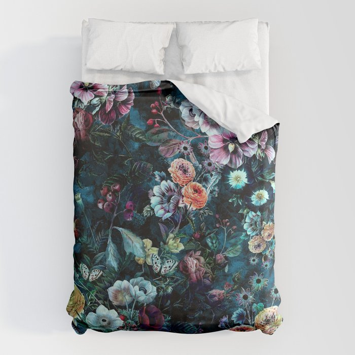 Night Garden Bettbezug