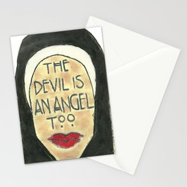 The Devil is An Angel Too Stationery Cards