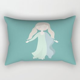 Assumption of Mary - Our Lady of the Navigators - the Feast of the Assumption Rectangular Pillow