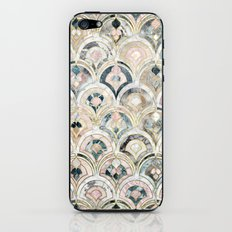 Art Deco Marble Tiles in Soft Pastels  iPhone & iPod Skin