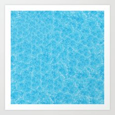 Blue Meth / Happy Sky Art Print