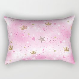 Pink Princess Rectangular Pillow