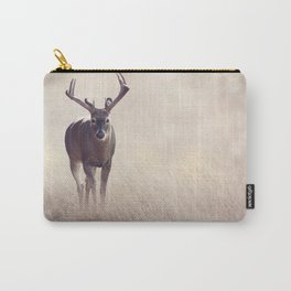 Male Deer in a grassland Carry-All Pouch