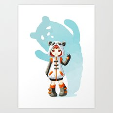 Cosplay Art Print