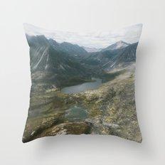 Mackenzie Mountains Throw Pillow