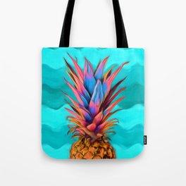 Colorful Pineapple, Ananas fruit Tote Bag