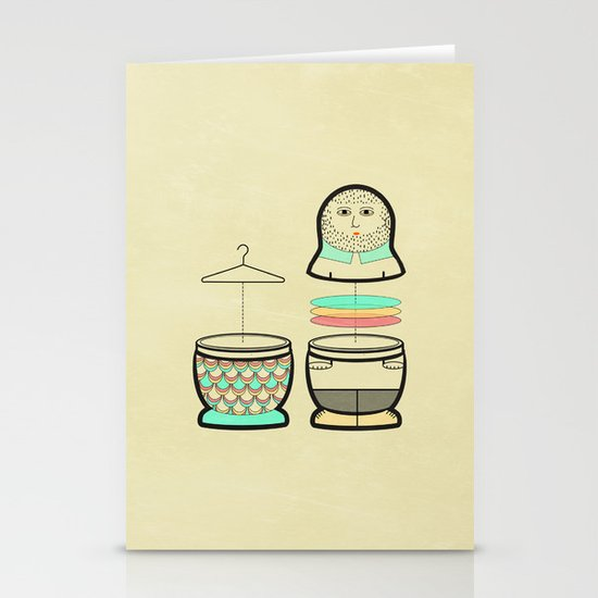 Everybody should have the opportunity to become a mermaid Stationery Cards
