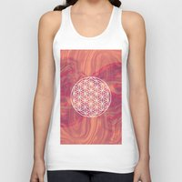 flower of life Tank Tops featuring Life Flower by shutupbek