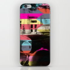 colorful confusion iPhone & iPod Skin