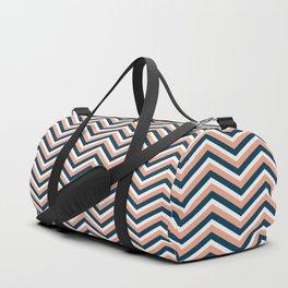Happy zigzag Duffle Bag