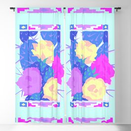Prickly Pear Blooming Paradise Blackout Curtain