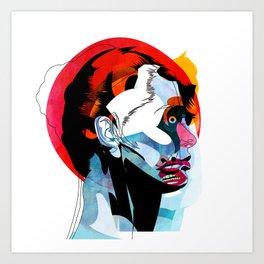 girl_220512 Art Print