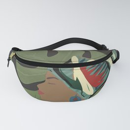 Woman with a Tuban Fanny Pack