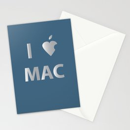 I heart Mac Stationery Cards