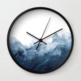 Indigo Depths No. 2 Wall Clock