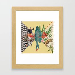 Baghdad nights Framed Art Print