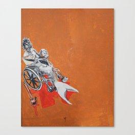 Bong Water Canvas Print