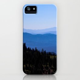 View From Mt. Shasta iPhone Case