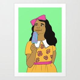 Lucha Por Tus Sueños Art Print
