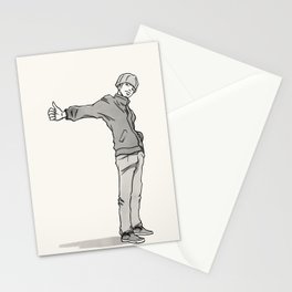 Thumbing Stationery Cards
