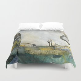 Brother's Keeper Duvet Cover