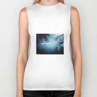 i want to believe Biker Tanks featuring I want to believe... by Julia Kovtunyak