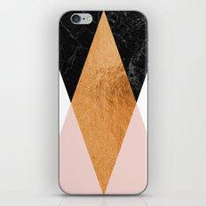 Copper Pink Geo iPhone & iPod Skin