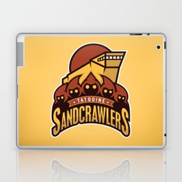 Tatooine SandCrawlers - Gold Laptop & iPad Skin