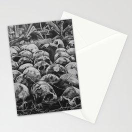 Bone Pile Stationery Cards