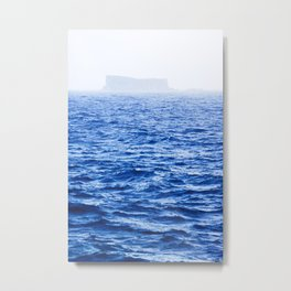 Isolated Island - Filfla Malta | Shades of Blue Metal Print