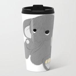 Stuffed Elephant Metal Travel Mug