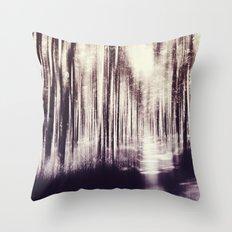 Magical Woods Throw Pillow