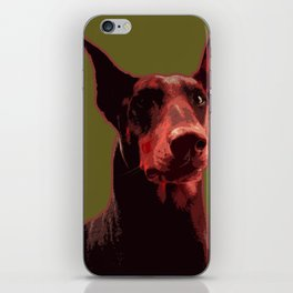 Doberman, majestic dog iPhone Skin