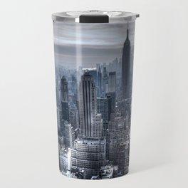 New York skyscrapers Travel Mug