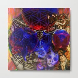Flower of creation Metal Print