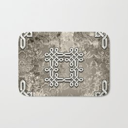 Wonderful celtic knot Bath Mat