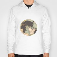 earth Hoodies featuring earth by Sébastien BOUVIER